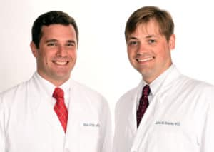 Mark Tait, M.D., and John Bracey, M.D.