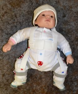 Infant dummy in the Gait Lab