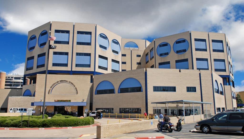 Exterior of VA hospital, Little Rock