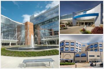 major training hospitals-map
